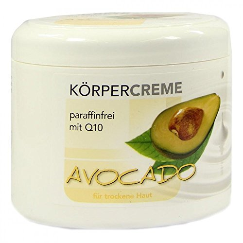 Avocado Körpercreme Q10 500 ml