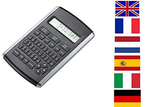 Reiseübersetzer Übersetzungscomputer Taschen-Übersetzer Translator 6-Sprachen