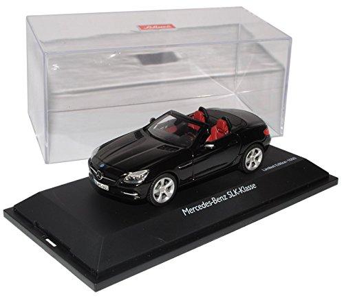 Preisvergleich Produktbild Mercedes-Benz SLK Cabrio Schwarz R172 Ab 2011 1 / 43 Schuco Modell Auto mit individiuellem Wunschkennzeichen