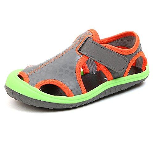 DIKEWANG Newest Kids Child Boy Fashion Spring Summer Outdoor Beach Soft Sole Sandals Shoes Boys Sandals Shoes