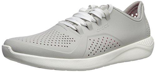 Croc's Chaussure Blanc Perle Femmes, Scarpe da Barca Donna, Bianco 101, 42/43 EU