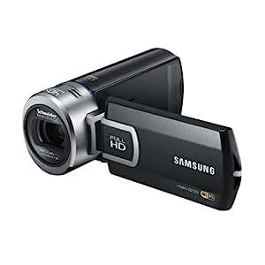 Samsung QF20 Caméscope numérique Full HD Port SD/SDHC 5 Mpix Zoom optique 20x Wifi Noir