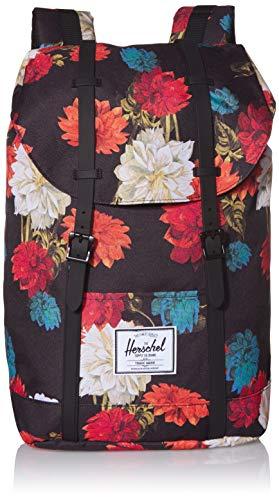 Herschel Backpack Retreat Vintage Floral Black