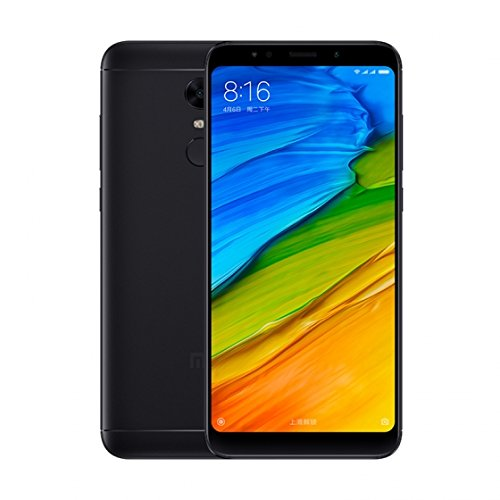 "Xiaomi Redmi 5 Plus Global Version 5,99inch "" Smartphone 4G (3GB + 32GB 12 MP Qualcomm Snapdragon 625 4000mAh) (Negro)"