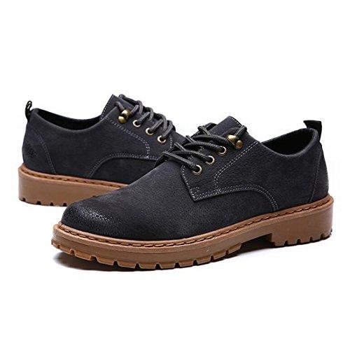 Autunno e inverno tendenza ? colore Scarpe Martin scarpe casual Scarpe britanniche rette utensili scarpe da uomo gray