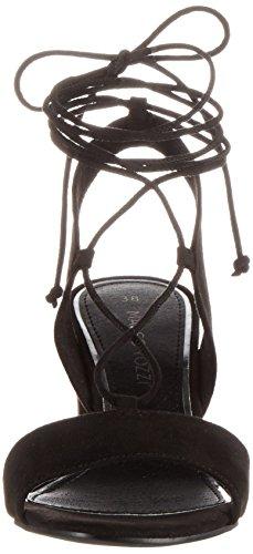 Marco Tozzi 28309, Sandales Bout Ouvert Femme Noir (Black 001)