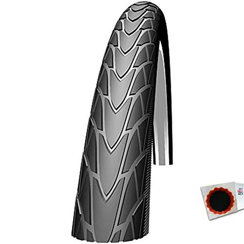 Schwalbe Reifen Marathon Racer 28 x 1,2 Zoll 30-622mm 700x30C schwarz Re+Flicken