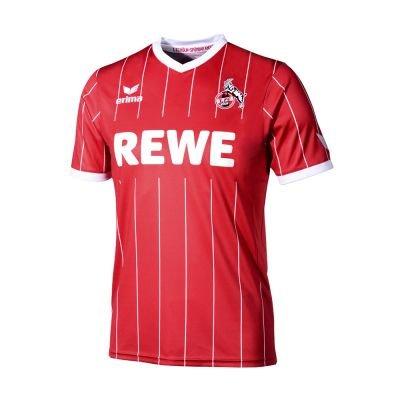 erima 1. FC Köln Europatrikot 2017 / 2018 rot / weiß, Größe:128