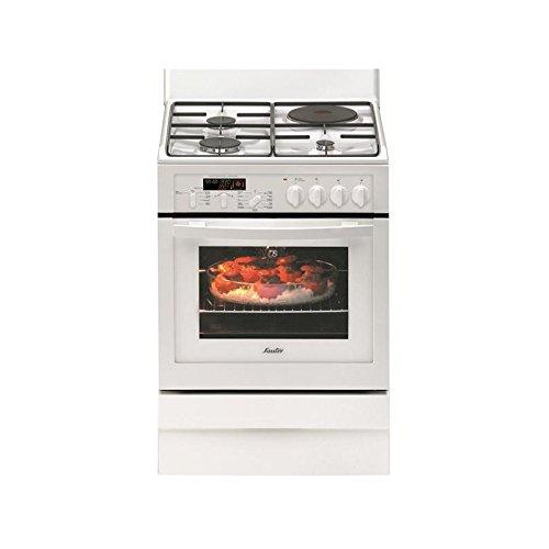 Sauter - SCM1065W - Cuisinière Mixte Gaz et Electrique - Classe: A - Blanc