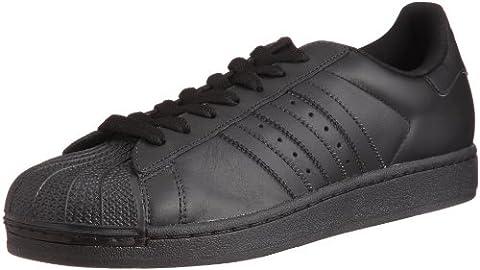 adidas Superstar II M, Chaussures basses homme - Blanc - Black/Black, 43 1/3 EU