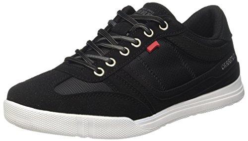 Carrera Herren Capry Mix Sneaker, Schwarz (Black/Shark 02), 44 EU -