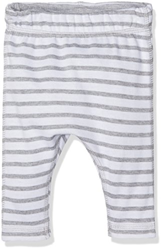 NAME IT Unisex Baby Leggings NITUXOGU PANT REV MZNB 13140693, Gestreift, Gr. 56, Mehrfarbig (Grey Melange)