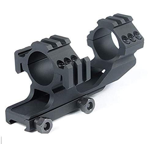 Huntiger Tactical Cantilever mit 30mm / 1''Dual-Scope Ringen Integrierte 2 Seitenschiene mit Verstellbarer Picatinny Montage schiene -