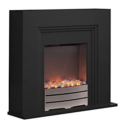 Warmlite Fireplace Suite, LED Flame Effect