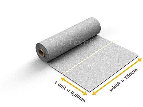 Filz, Filzstoff, Dekorationsfilz, Weicher Filz, Breite 150cm, Dicke 3mm, Meterware 0,5lfm – blau - 3