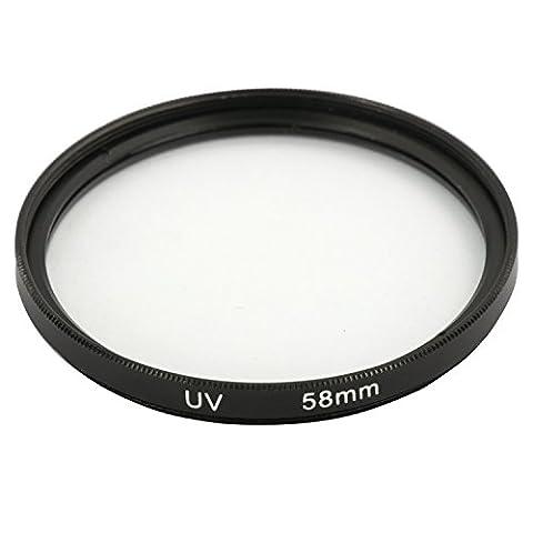 DIGIFLEX Filtre UV protection d'objectif 58 mm pour Canon 18-55 mm EOS 500D 1000D