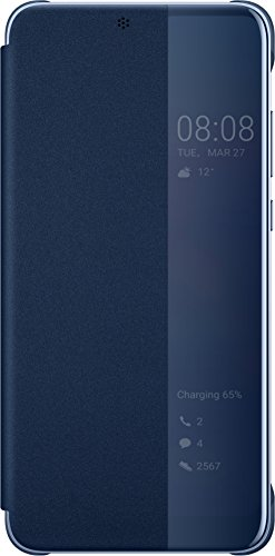 Huawei Smart View Flip Cover für P20 Pro, Deep Blue -