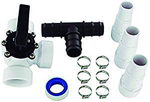 well2wellness® Pool Bypass Set 12-teilig für Solarheizung Pool