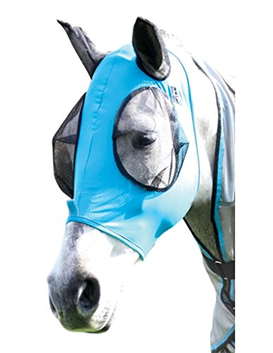 Professionals' Choice ProfCoice Comfort Fit Fly Mask Fliegenmaske Pacific Blue M (Choice Pferd Professionals)