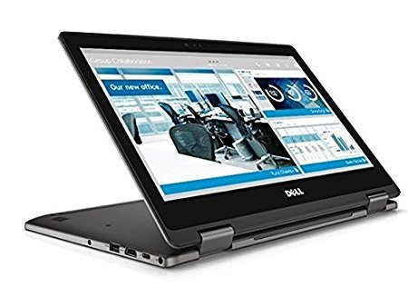 "Dell Latitude 13.3"" Full-HD touchscreen 2-in-1 Convertible Laptop (Intel i3-6006U 2.0GHz Dual-Core, 4GB RAM, 128GB SSD, Webcam, Windows 10 Pro)"