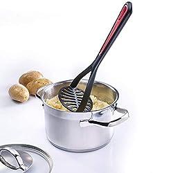 Westmark Kartoffelstampfer, Kunststoff, Länge: 27,5 cm, Gallant, Schwarz/Rot, 29632270