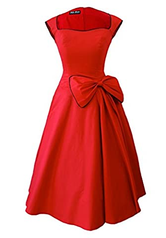 New Vintage 1950s 60s Rockabilly balançoire Robe de soirée -