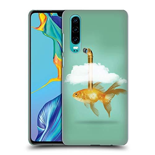 fizielle Vin Zzep Periskop Goldfisch Fisch Ruckseite Hülle für Huawei P30 ()