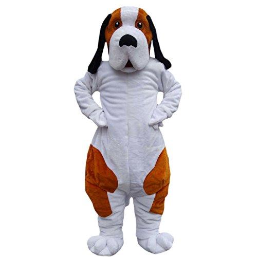 d Dog Cartoon Maskottchen Kostüm Echt Bild 15-20Tage Marke ()