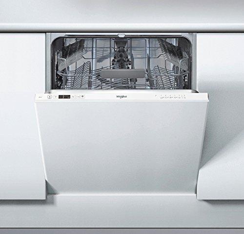 Whirlpool WIC 3B vollständig integriertes + 2614places A + + Spülmaschine-Geschirrspülmaschinen (komplett integriert, weiß, Full Size (60cm), weiß, Knöpfe, 1,3m)