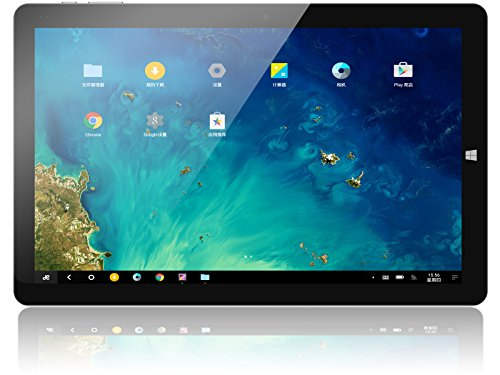 CHUWI Hi10 Pro Tablet PC 10.1 Zoll Display Dual OS Android 5.1, Windows 10, 4GB RAM+64GB ROM,Quad-Core,WIFI, Dual Kamera 2.0MP Schwarze Farbe