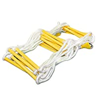 WYX Escape Rope Ladder Outdoor Rope Ladder Folding Ladder Emergency Fire Rescue Multi-Length Optional Safety Rope,20M