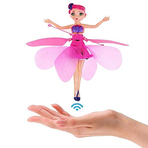 Fliegende Fee Puppe mit Infrarot-Erkennung, ferngesteuertes Spielzeug für Kinder