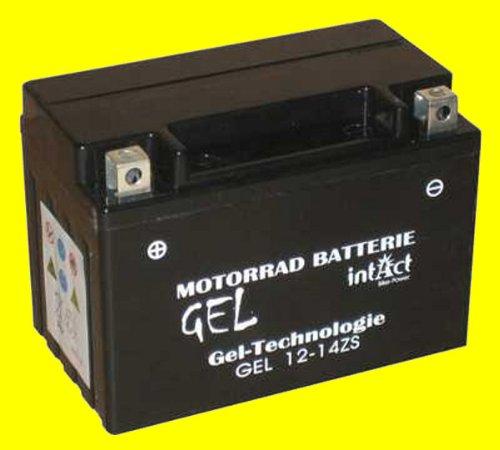 Motorrad Batterie Gel 12 V 11.5 AH (YTZ14-S) - Alternativ: GEL12-12Z-S - LI-12-14-BS (ohne Spacer) - 51101 - 511902023A514 - YTZS-4 - YTZ14S-BS - 0092M60170 - M6017 - 0097251P2 - YTZ14S - SLA12-14Z-S - YTZ14B-4 - TTZ14SBS - Die angegebenen Preise beinhalten 7,50 Euro Batteriepfand!