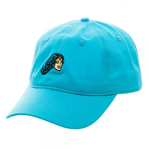 DC Comics Wonder Woman Embroidered Adjustable Dad Hat Gorra De Béisbol