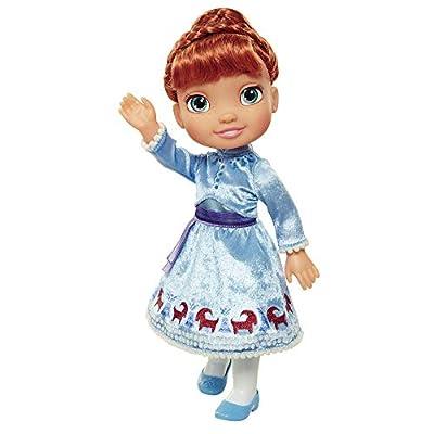 Jakks Pacific- Anna Muñeca Princesas Disney Frozen, Elsa de Las Aventuras de Olaf,, 7,5 cm (84712) por Jakks