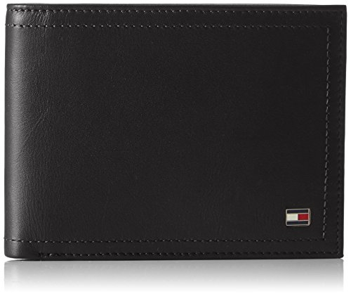 Tommy Hilfiger Harry CC And Coin Pocket, Borse Uomo, Nero (Black), 9x30x26 cm (W x H x L)