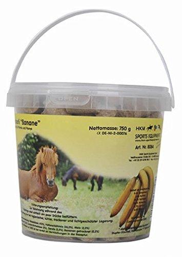 HKM 8084 Pferde - Leckerli - Banane - im Eimerchen 750 g, M