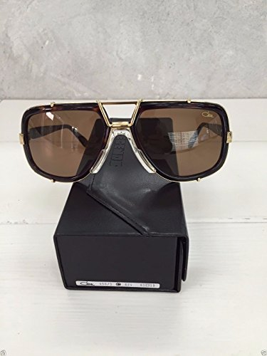 929777caaf2d Sunglasses Cazal Vintage 656 3 col.624 Dark Amber Brown Solid 100% Authentic