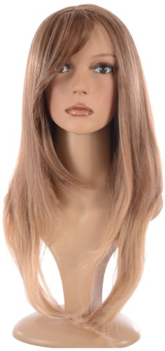 Hair By MissTresses Perruque longue Ombre Layered Face Cadres, blond