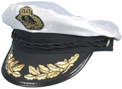 Kostüm London Guards - Best Dressed Mens Womens Sea Captain Sailor Navy Marine Ship Fancy Dress Costume Hat by Star55