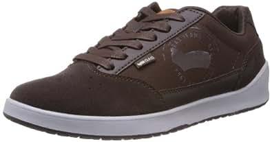 Gas Men's Brown Canvas Sneakers (G114SL04) - 10 UK