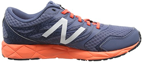 New Balance - W590 Running Neutral, Scarpe tecniche Donna Grigio (Grey/Orange)