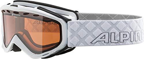 Alpina Erwachsene Skibrille Spice QH, White, One Size