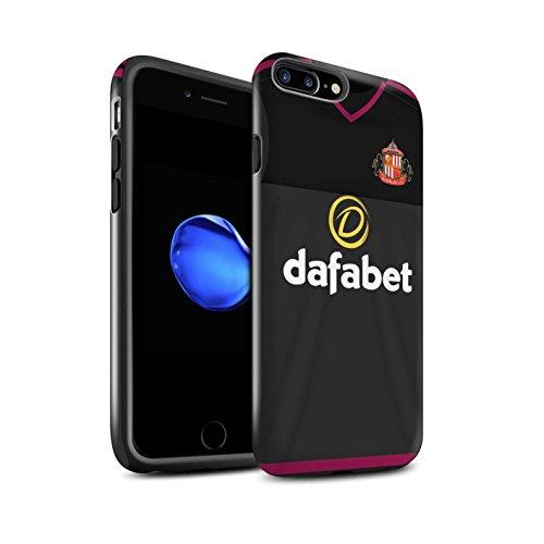 Offiziell Sunderland AFC Hülle / Glanz Harten Stoßfest Case für Apple iPhone 7 Plus / Fußballer Muster / SAFC Trikot Away 15/16 Kollektion Torwart