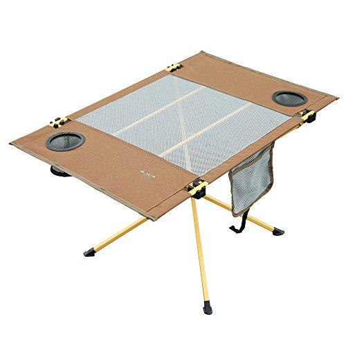 GYH zhuozi LJHA Table et Chaise Ensemble Pliant Table Pliante portative et Chaise Table de Loisirs en Plein air Table de Pique-Nique Barbecue Auto-Conduite 3 Couleur en Option Table (Couleur : A)