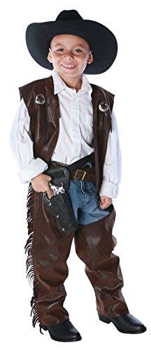 Cowboy Chaps Child Costume Size 6-8 Medium Kid Cowboy-chaps