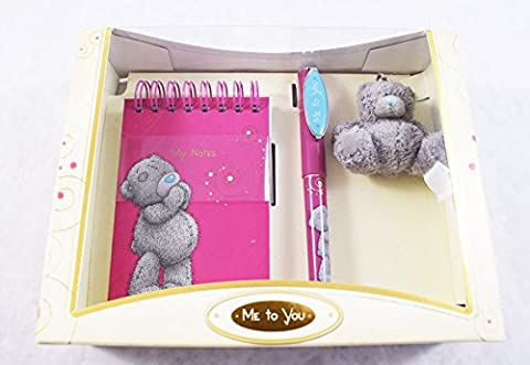 Me To You Bear Notebook Pen Grey Teddy Bear Keyring