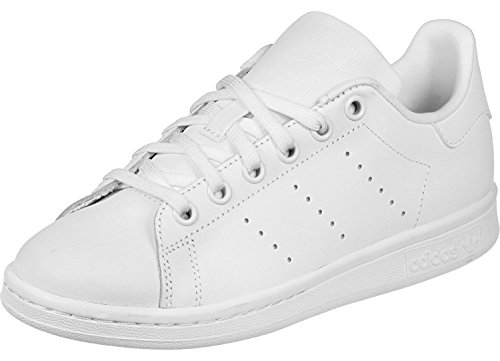 adidas Stan Smith, Baskets Mixte Adulte, Blanc, 47 1/3 EU