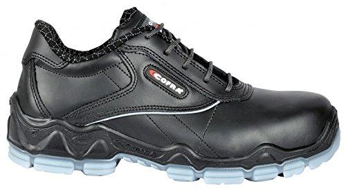 Cofra Sicherheitshalbschuhe Monet S3 Wellness leicht und komfortabel, Gröe 39, schwarz, 20020-000
