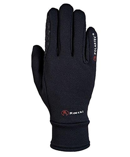 Roeckl Winter Reithandschuhe 3301-624 Gr. 9 schwarz Power Stretch von Polartec (Stretch-handschuhe Weiche)